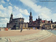 One of the prettiest towns in Germany is Dresden, called also The 'Florence of the Elbe'. Read more about what Dresden in Germany can offer. Travel Shoes, Royal Palace, Dresden, Florence, Germany, Louvre, Architecture, Arquitetura, Deutsch