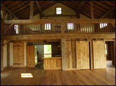 Cola Barn - love love love this rustic barn/house!!!!!