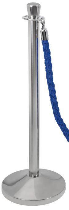 T103300 Colonna in acciaio inox sistema divisorio