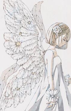 Art Anime, Anime Art Girl, Anime Girl Drawings, Art Drawings, Pretty Art, Cute Art, Character Art, Character Design, Arte Indie