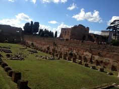Estadio de Domiciano - Palatino