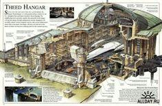 Hangar Naboo star wars