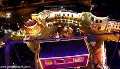 WINTERMARKT AM RIESENRADPLATZ Vienna, Ferris Wheel, Broadway Shows, Fair Grounds, Travel, Viajes, Destinations, Traveling, Trips