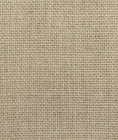 Beach House Beige Irish Linen Burlap for Sofa Throw Pillows