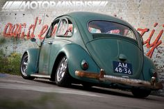 1960 Volkswagen vw Beetle with patina (2)