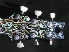 FUQUAY Custom Electric Guitars and Shell & Pearl Inlay