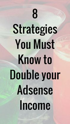 Easy ways to double your adsense income and increase revenue. Make Money From Home, Make Money Online, How To Make Money, Advertising Networks, Blogging For Beginners, You Must, Pinterest Marketing, Blog Tips, Online Business