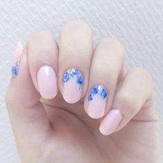 20 Incredible Pink and Blue Nails [Pantone 2016 Round-Up]