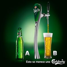 Historia  La cerveza Carlsberg se ha producido desde 1847. En 1868, Carlsberg comenzó a exportar a Escocia. En 1869 se enviaron muestras a Rangún, Singapur, Calcuta y Hong Kong.Se vendió por primera vez como pilsner en 1904.