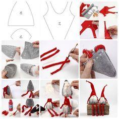 Enfeites e Bonecos de Natal Faça você mesmo: 80 ideias para vender ou decorar. Com moldes e passo a passo