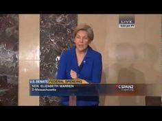 Senator Elizabeth Warren spoke on the floor of the Senate on Dec. 2014 about the provision that Citigroup added to the omnibus budget package. Senator Warren, Bloomberg Business, Primary Election, Dec 12, Elizabeth Warren, Empowering Quotes, Calculus, December 2014