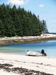 One of the Many Beautiful Islands off of Stonington, Maine