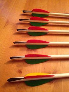 Horn wedge target English longbow arrows