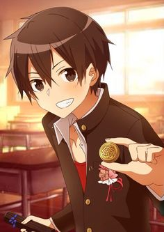 Kirito (Kazuto Kirigaya) ღ SAO Kirito Kirigaya, Kirito Asuna, Fan Anime, Anime Guys, Online Anime, Online Art, Tous Les Anime, Desenhos Love, Gun Gale Online