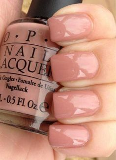The advantage of the gel is that it allows you to enjoy your French manicure for a long time. There are four different ways to make a French manicure on gel nails. Cute Nail Polish, Cute Nails, Pretty Nails, Nails Opi, Shellac, Opi Nail Colors, Cute Nail Colors, Gorgeous Nails, Manicure And Pedicure