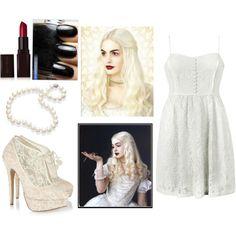white queen costume alice in wonderland - Google Search