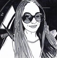 Natalie Peris (Singer/Songwriter) by DiMeStOreArt.deviantart.com on @deviantART