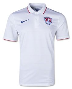 983c58dc5 USA U.S. Mens Authentic White World Cup Nike Stadium Size Small Soccer  Jersey Sport Outfits