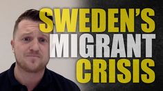 """I think he's not happy :( Tommy Robinson: Sweden self-destructs for """"diversity""""  #MuslimBan"""