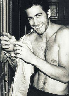 Daaamn he's hot! Jake frickin' Gyllenhaal  #JakeGyllenhaal