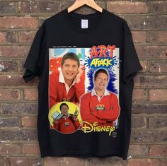 Neil Buchanan Art Attack T-shirt from the Homage Tees collection. Now available online [subject to limited availability]. Christmas List 2016, Nigo, Akira, Retro, Tees, Materialistic, Mens Tops, T Shirt, Clothes
