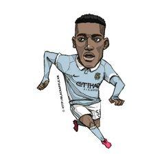 Manchester City No.53 Tosin Adarabioyo Fan Art