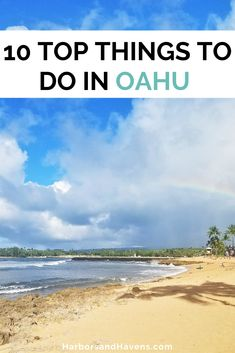 These are some of the best things to do in Oahu Hawaii for your Oahu bucket list! Discover top Oahu hikes, Oahu beaches, Pearl Harbor, Oahu North Shore, and free things to do on Oahu. #OahuTravel #OahuHawaiiTravel Oahu Hawaii activities bucket lists | Oahu Hawaii activities | what to do on Oahu Hawaii | Oahu Hawaii things to see | Oahu Hawaii North Shore | Oahu Hawaii beaches | Oahu Hawaii vacation guide | Oahu Hawaii travel bucket list | Oahu Hawaii travel tips Hawaii Honeymoon, Hawaii Vacation, Oahu Hawaii, Free Things, Things To Do, Oahu Beaches, Hawaii Travel Guide, North Shore Oahu, Pearl Harbor