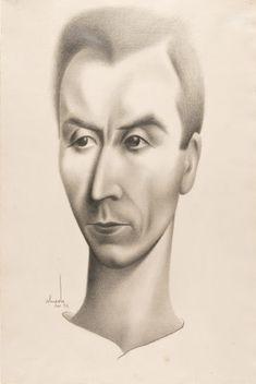 José de Almada Negreuros: Retrato de António Navarro Henri De Toulouse Lautrec, Gustav Klimt, Preston, Paint Designs, Portuguese, Art Photography, Diversity, Paintings, Style