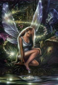 airbrushed fairy