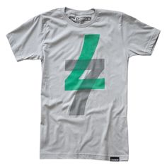 Sevens Up Tee Gray by Ugmonk