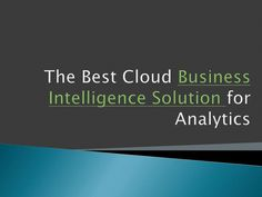 Finding the Best Cloud Business Intelligence Solutions. Business Intelligence Solutions, Fails, Clouds, Good Things, Make Mistakes, Cloud