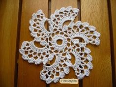 Not Your Grandma's Doily – Spectacular Suede Crochet Doily – Free Pattern Crochet Square Patterns, Crochet Squares, Crochet Motif, Crochet Designs, Flower Patterns, Crochet Stitches, Knit Crochet, Crochet Leaves, Crochet Flowers
