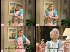 Golden Girls. Blanche, please.