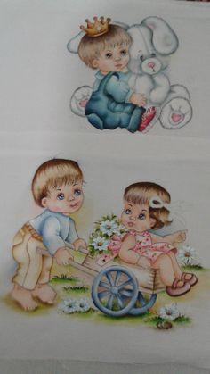 Pintura em tecido | para bebês | fraldas