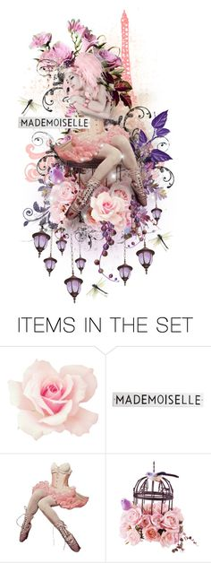 """""""Madamoiselle Moineau"""" by the-alchemistress ❤ liked on Polyvore featuring art"""