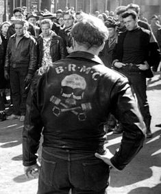 The Black Rebel Motorcycle Club jacket, Marlon Brando - The Wild One 1953