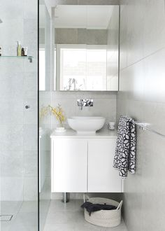 A compact bathroom has gone from zero to hero thanks to a clever, space-enhancing makeover