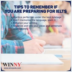 Tips to remember if you are preparing for IELTS  #IELTScoaching #WinnyCoaching