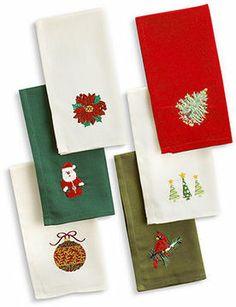 Windham Weavers Table Linens, Set of 12 Christmas Napkins on shopstyle.com