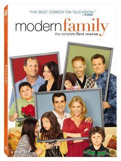 Modern Family - DVD Cover