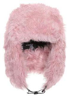 Moncler Grenoble Fur ski hat  hat  womens d1745beb658