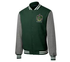 This pretty stylish Quidditch jacket.   Community Post: 25 Bewitching Gifts All Slytherins Need In Their Lives
