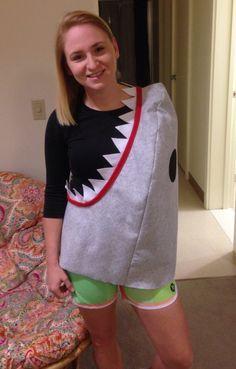 Hai Attacke Kostüm selber machen | Kostüm Idee zu Karneval, Halloween & Fasching
