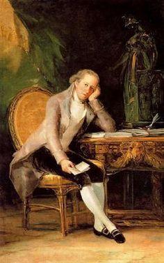 Jovellanos. Goya. Romanticismo. S. XVIII / XIX.