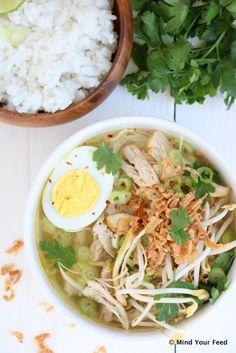 Tortilla wraps van speltbloem - Mind Your Feed Super Healthy Recipes, Healthy Snacks, Quick Meals, No Cook Meals, Easy Diner, Asian Soup, Asian Recipes, Ethnic Recipes, Exotic Food