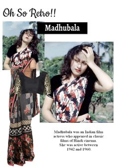 'Bollywood Style' by me on Limeroad featuring Black Sarees with Black Blouses