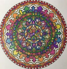 ColorIt Mandalas Volume 2 Colorist: Dawn Biggs #adultcoloring #coloringforadults #mandalas #mandalastocolor