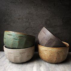 Noodle bowls!  #quarrycollection #handmade #bowls #sophiemoranceramics #australianceramics