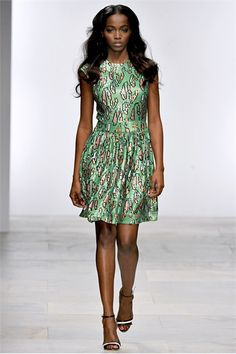 London Spring Summer 2012 Ready-To-Wear collection