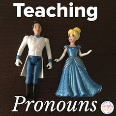 Simply Speech: Teaching Pronouns to little ones! I love using toys to teach this concept! Teaching Pronouns, Pronoun Activities, Speech Therapy Activities, Language Activities, Speech Language Pathology, Speech And Language, Love Speech, Therapy Ideas, Aba